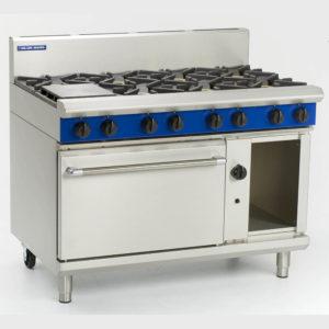 G508 Blue Seal 8 Burner Cooker